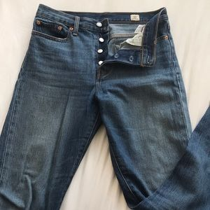 Free People high rise straight jeans